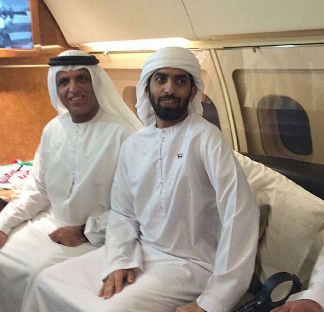 Photo of تهنئة بمناسبة عودة الشيخ أحمد بن سعود القاسمي من رحلة العلاج بعد إصابته البطولية