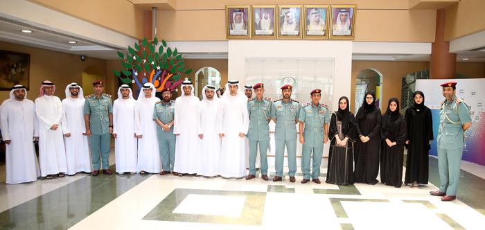 Photo of قائد عام شرطة رأس الخيمة يستقبل أعضاء مجلس رأس الخيمة للشباب
